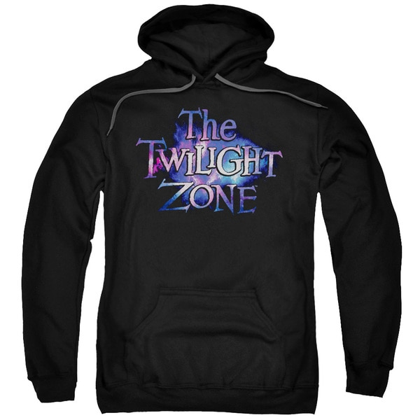 Twilight Zone/Twilight Galaxy Adult Pull-Over Hoodie in Black