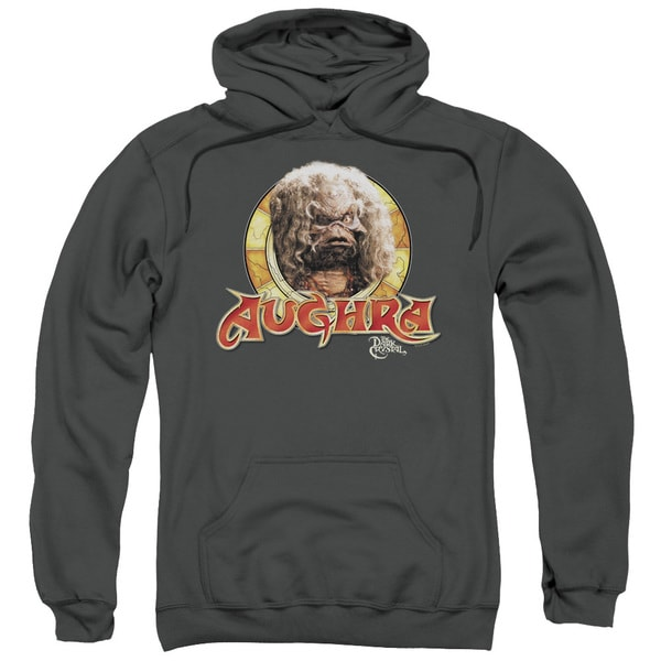 Dark Crystal/Aughra Circle Adult Pull-Over Hoodie in Charcoal
