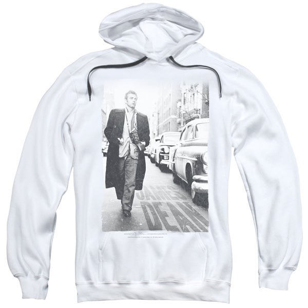 Dean/On The Street Adult Pull-Over Hoodie in White