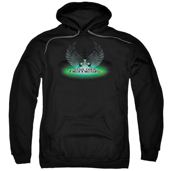 Star Trek/Nemesis(Movie) Adult Pull-Over Hoodie in Black