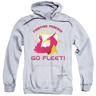Star Trek/Fighting Phoenix Adult Pull-Over Hoodie in Athletic Heather
