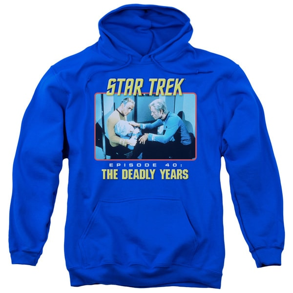 St Original/Episode 40 Adult Pull-Over Hoodie in Royal Blue
