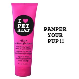 Pet Head High Maintenance Leave In Dog Conditioner Strawberry Yogurt 8.5oz