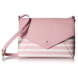 Kate Spade New York Fairmount Square Large Monday Pink Blush/Cream Crossbody Handbag