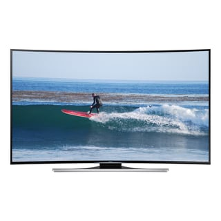 Samsung Reconditioned Curved 55-inch Ultra Thin Smart LED TV (Includes 2 Pairs 3D Glasses)