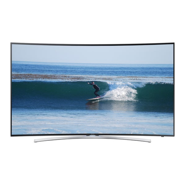 Samsung Reconditioned Curved 55-inch 3D Smart LED TV with WI-FI (Includes 2 Pairs 3D glasses) 18681288