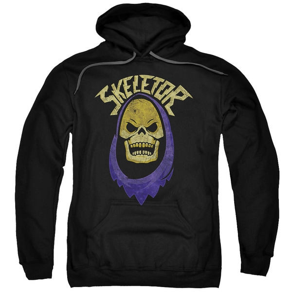 Masters Of The Universe/Hood Adult Pull-Over Hoodie in Black
