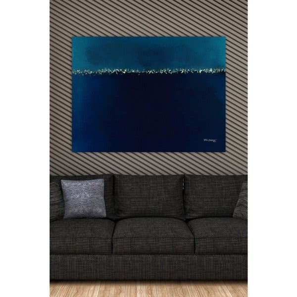 Mark Lawrence 'The Face Of The Waters. Genesis 1:2' Giclee Stretched Canvas Wall Art
