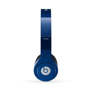 Dr. Dre Beats Reconditioned Solo-wired Dark Blue Headphones