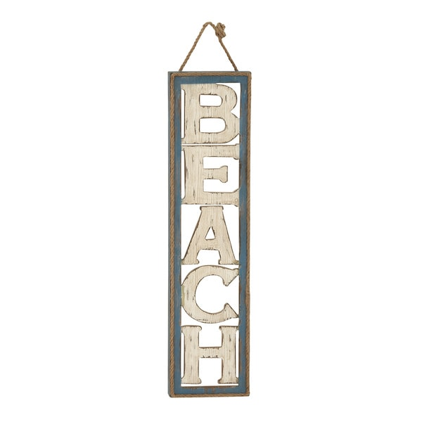 Beach Wall Sign Decor