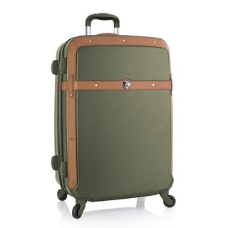 Heys Executive Series Heritage Dual-colored Polycarbonate 21-inch Spinner Suitcase
