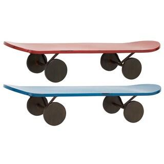 Metal Skateboard Display Shelves (Set of 2)