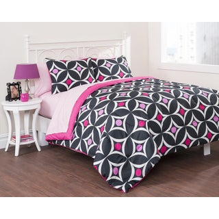 Mod Dots 7-piece Bed in a Bag with Sheet Set