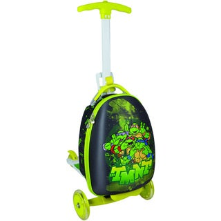 Nickelodeon Kid's TMNT Upright Scooter Suitcase