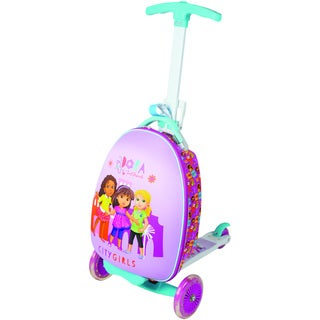 Nickelodeon Kid's Dora and Friends 'City Girls' Upright Scooter Suitcase
