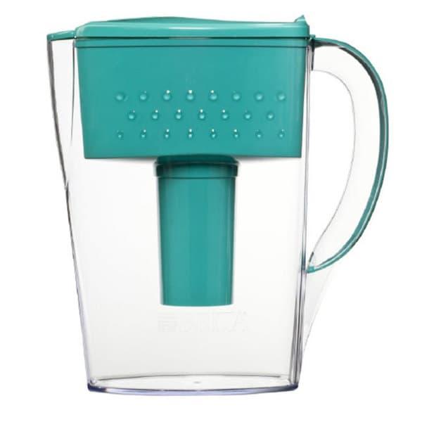 Brita Space Saver 6 Cup Teal Water Filter Pitcher