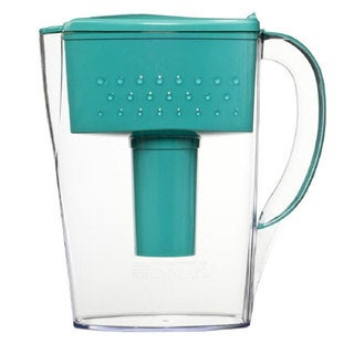 Brita Space Saver 6-cup Teal Water Filter Pitcher