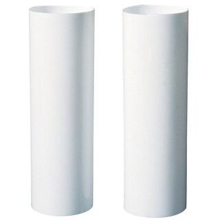"Westinghouse 7037100 4"" White Candle Socket Covers 2-count"