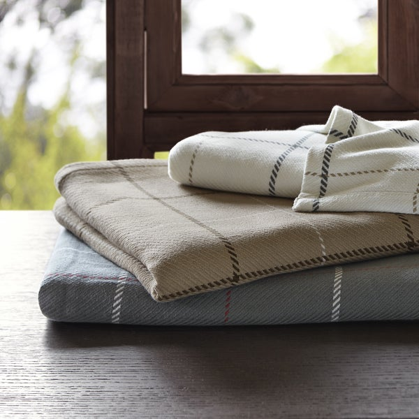 Woolrich Wilton Yarn Dyed Cotton Blanket