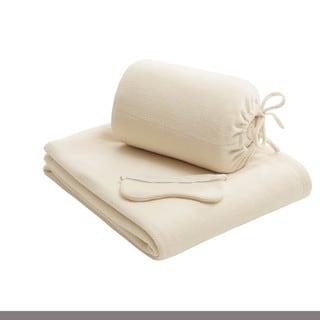 Intelligent Design Twin XL Micro Fleece Blanket with Eyemask 4-color options
