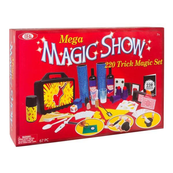 Mega 220 Trick Magic Show Set 18683777