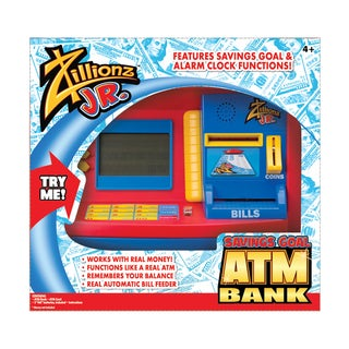 Jr. Deluxe Savings Goal ATM Bank