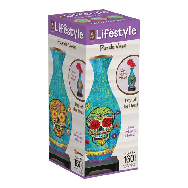 BePuzzled Lifestyle 160-piece Day of the Dead 3-D Puzzle Kit