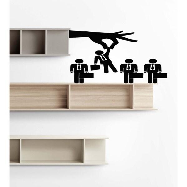 Career Job operating activities arm Wall Art Sticker Decal