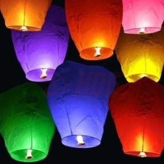 10 Chinese Sky Fly Fire Lanterns