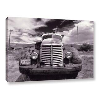 Vlad Bubnov's 'Keep On Truckin'' Gallery Wrapped Canvas