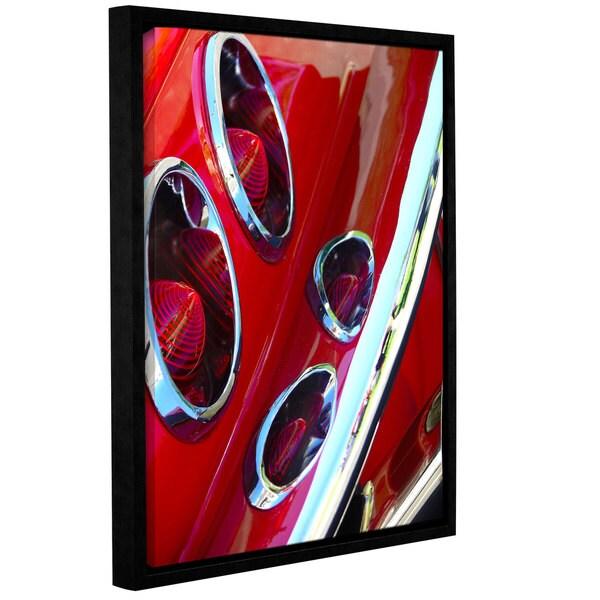 Vlad Bubnov's 'Rocket Fuel' Gallery Wrapped Floater-framed Canvas