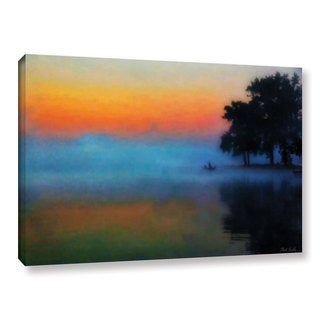 Mark Goodhew's 'Fishing in the Mist' Gallery Wrapped Canvas