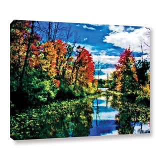 Mark Goodhew's 'Lake Channel' Gallery Wrapped Canvas