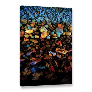 Mark Goodhew's 'River Rock' Gallery Wrapped Canvas