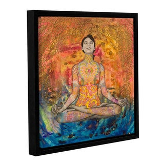 Hector & Agata Surma & Guillen's 'Meditation' Gallery Wrapped Floater-framed Canvas
