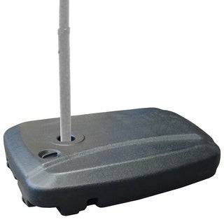 EasyGoProducts Black Plastic 24-inch x 7-inch x 32-inch Universal Umbrella Water Base