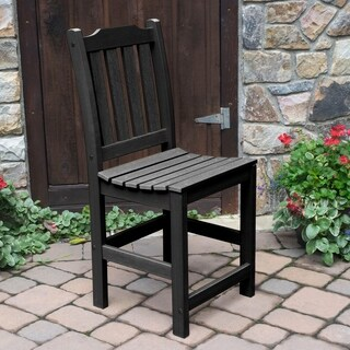 Lehigh Black Plastic Counter Side Chair