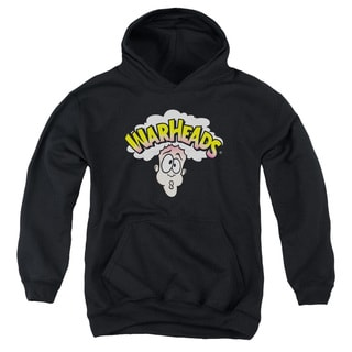 Warheads/Logo Youth Pull-Over Hoodie in Black