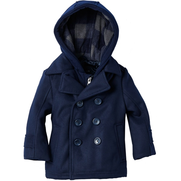 London Fog Boys' Navy Fashion Jacket