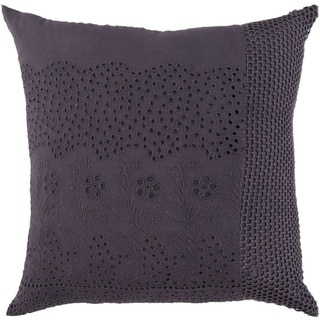 Decorative Colleen 18-inch Poly or Down Filled Throw Pillow