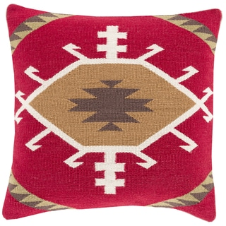 Decorative Jasper 22-inch Poly or Down Filled Throw Pillow