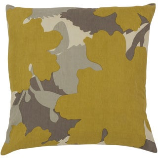 Jef Designs: Decorative Marshall 20-inch. Poly or Down Filled Throw Pillow