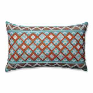 Pillow Perfect Amber Citrus-Belize Rectangular Throw Pillow