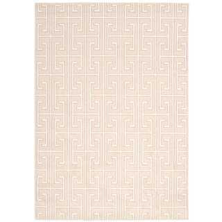 Michael Amini Glistening Nights Beige Area Rug by Nourison (7'9 x 10'6)