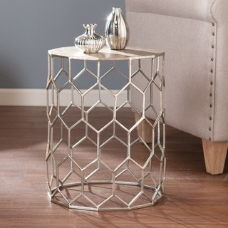 Upton Home Christopher Metal Accent Table