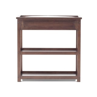 Child Craft Abbott Walnut Brown Wood Dressing Table