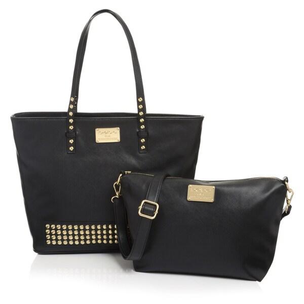 BEBE Reversible Tote Handbag