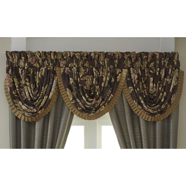 Croscill Savannah Waterfall Valance