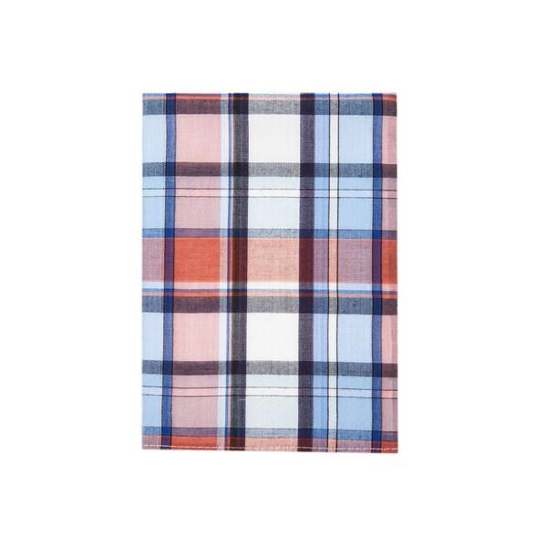 Plaid Cotton Pocket Square