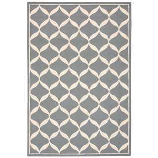Nourison Decor Slate/White Rug (8' x 10')